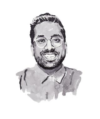 Illustration of Ryan Chetiyawardana