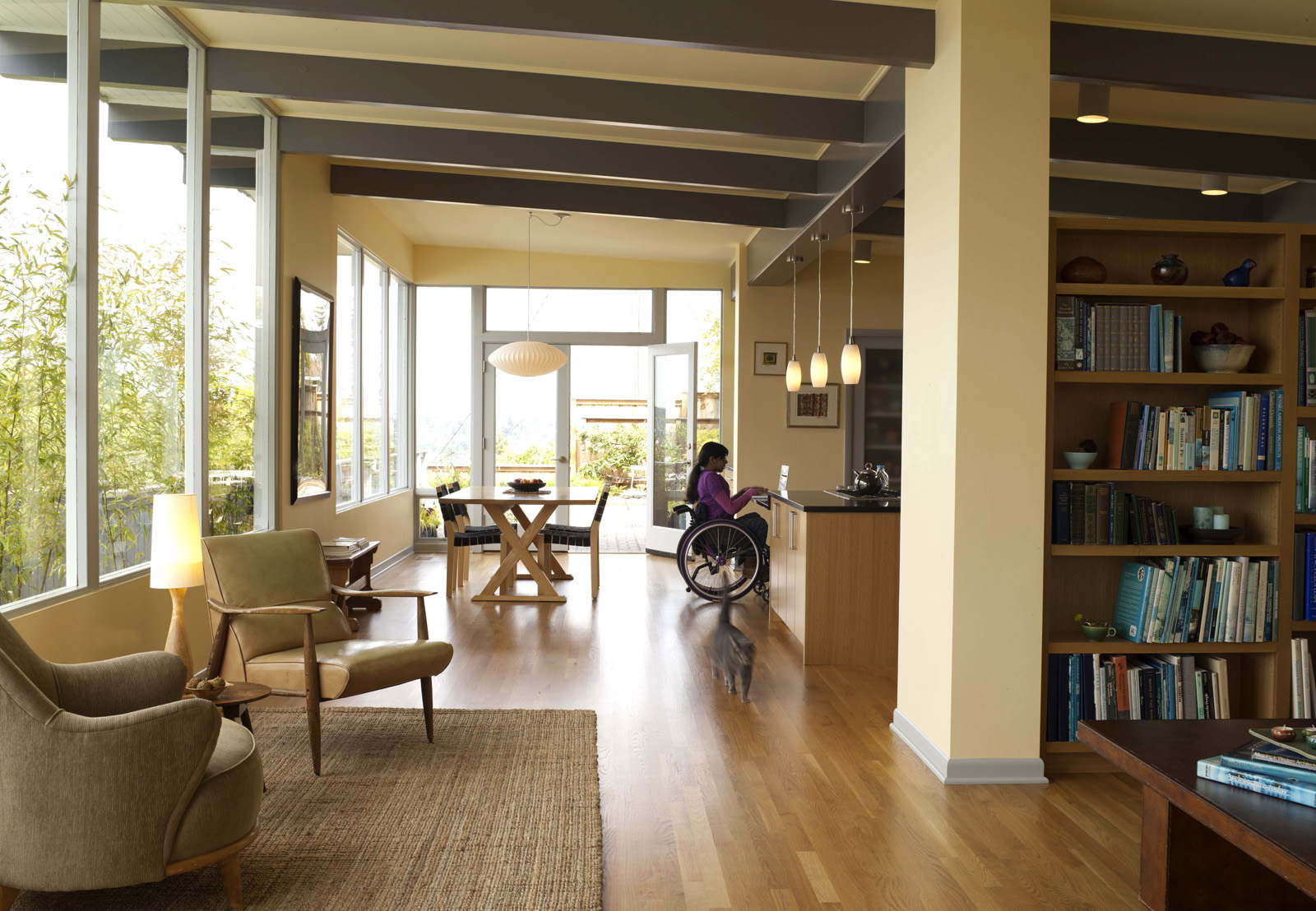 4 steps to a wheelchair accessible home: decorating