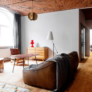 Restored loft in a Polish warehouse