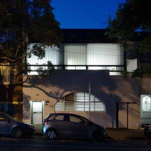 W House facade