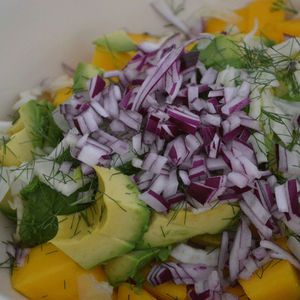 Amys Kitchen Table avocado mango fennel salad