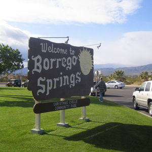 Borrego Welcome