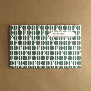 Egg Press Recipe Cards