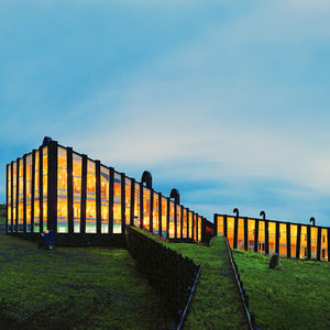 Puerto Natales, Patagonia, Chile; Remota Hotel, designed by German del Sol