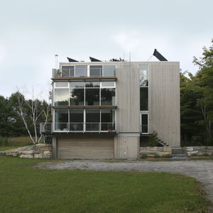 Carol A. Wilson Architect, HOUSE ON MERE POINT