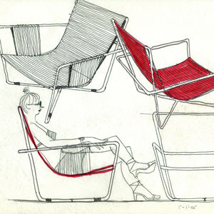 Rapson Chairs drawing