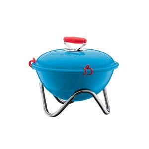 bodum fyrkat picnic grill blue  crop