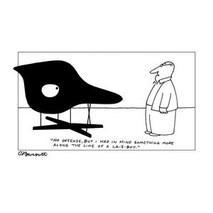 charles barsotti chair cartoon  crop
