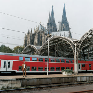 cologne germany kolner dom subway portrait
