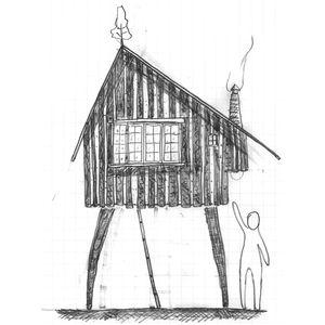 Beetle's House, by architect Terunobu Fujimori.