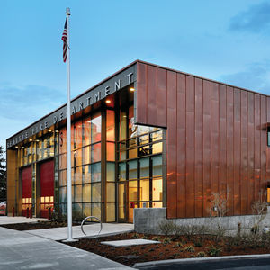 Fire Station 39 by Miller Hull Partnership