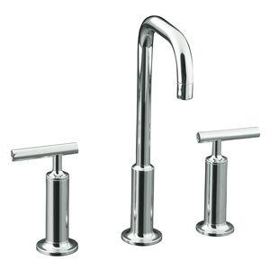 kohler Purist widespread lavatory faucet K 14408 4