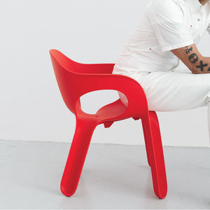 The ubiquitous white plastic chair has had its day in the sun. Designer Karim Rashid joins Dwell to explore a rainbow of alternatives.