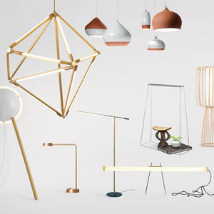 modern energy-saving sculptural lighting products