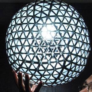 Bright Ideas winner Ed Chew holds his design.