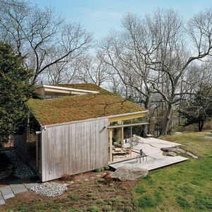 guilford cottage exterior green roof thumbnail