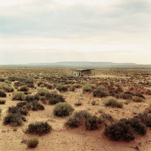 At the heart of the Colorado Plateau is the Navajo Nation—a 27,000-square-mile sovereign state lying in the Four Corners region, in Utah, New Mexico, and Arizona. It's here, along a dirt road, miles from anything and anybody that Rosie Joe's house shimmer