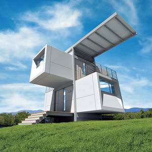 """Though zeroHouse exists only in 3-D renderings and brochures, its striking appearance and """"zero-impact"""" ambitions were enough to attract significant interest across the digital media world and beyond."""