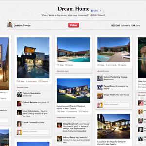 Pinterest Dream House design board