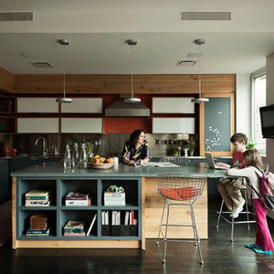chelsea triplex kitchen dwell home tour