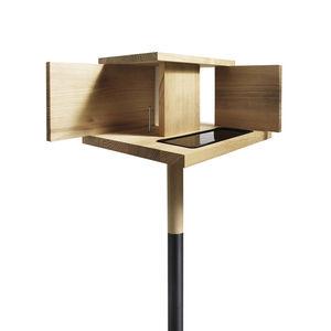 menu wooden bird feeder
