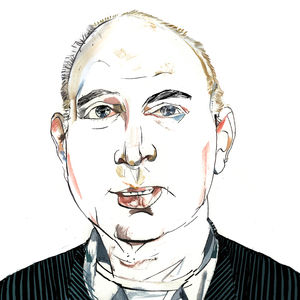 Murray Moss portrait by Riccardo Vecchio