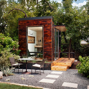 Modern prefab home Sett Studio