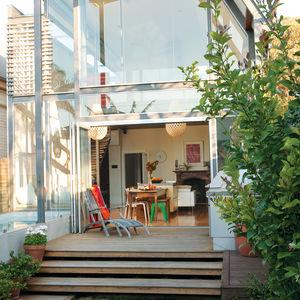 Backyard facade with Viridian ComfortPlus glass windows