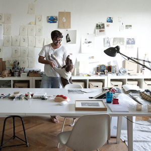 Madrid-based Luis Urculo's studio