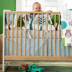 DwellStudio crib set.