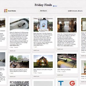 Dwell Friday FInds Pinterest Board