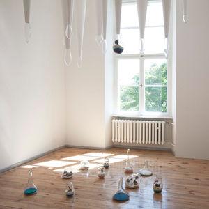 Litill, terrariums, Lauren Coleman, Direktorenhaus, Berlin, stalactites, stalagmites