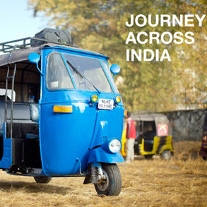 Mike Matas Journey Across India