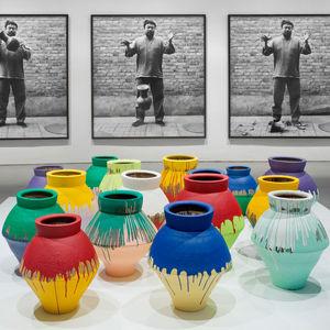 Ai Weiwei installation Hirschorn Urns