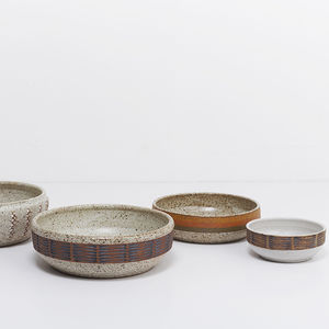 modern ceramic bowls by kat and roger lee