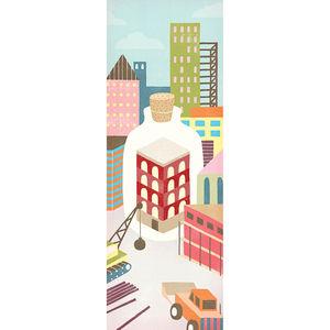 City preservation illustration