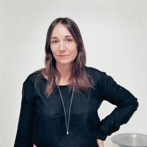 Monica Forster in her Stockholk studio