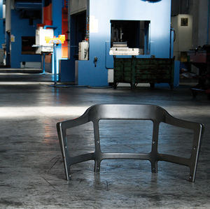 "<h2><a href=""http://www.dwell.com/articles/steelwood-chair.html"">The Steelwood Chair</a></h2><p></p>Magis' Steelwood chair, designed by Ronan and Erwan Bouroullec, begins its life as a sheet of steel in an Italian factory. <p></p><p></p>Featured in the <a"