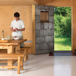 barache residence house portrait kitchen