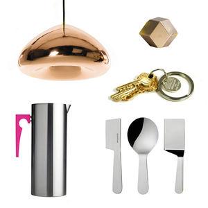 8 metallic objects  0