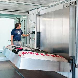 wardell sagan residence aluminum murphy bed