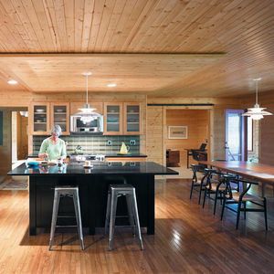 campbell residence interior kitchen portrait