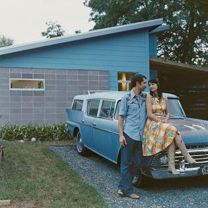 rihn house exterior car portrait