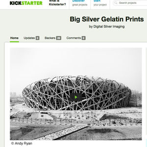 kickstarter silver gelatin prints