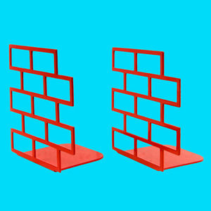 gluekit brick bookends