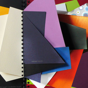 moleskine ginette caron fedrigoni special papers sample book