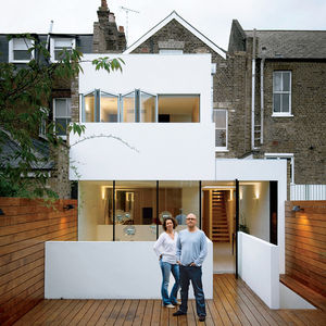 composite index house exterior portrait couple in backyard  0