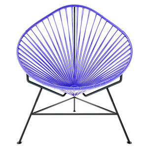 purple acapulco chair