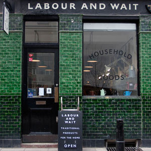 labor and wait storefront