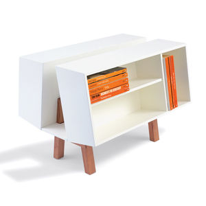 skandium isokon penguin caddy 2 bookcase